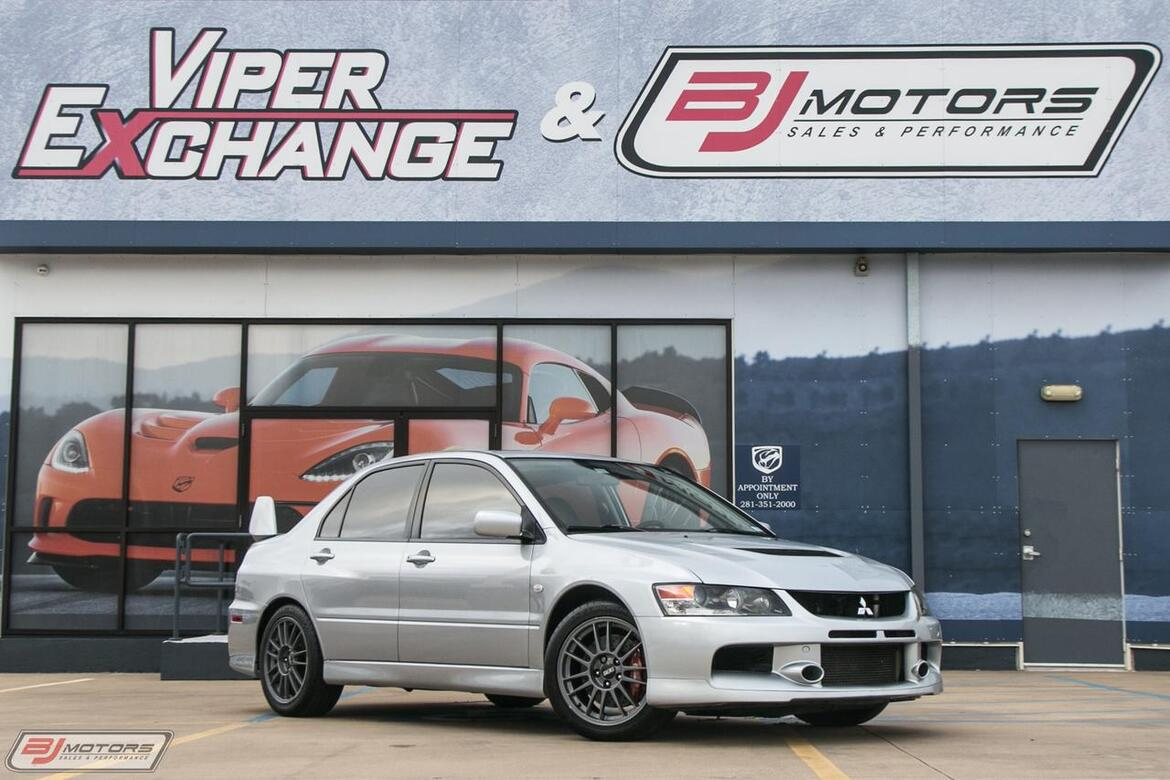 High Quality 2006 Mitsubishi Lancer Evolution MR Edition Tomball TX ...
