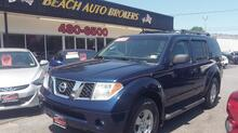 2006_NISSAN_PATHFINDER_SE 4X4, AUTOCHECK CERTIFIED, BLUETOOTH, TOW PACKAGE, ROOF RACKS, 3RD ROW SEAT, ONLY 92K MILES!_ Norfolk VA