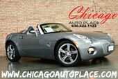 2006 Pontiac Solstice Convertible - ECOTEC 2.4L 4-CYL ENGINE REAR WHEEL DRIVE PREMIUM CHROME WHEELS 2-TONE GRAY/BEIGE LEATHER INTERIOR