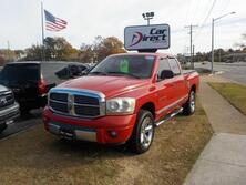 RAM 1500 LARAMIE 4X4, BUY BACK GUARANTEE AND WARRANTY, BED LINER, TOW PKG, INFINITY SOUND, ONLY 119K MILES! 2006