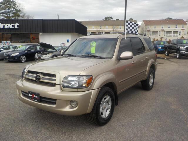 2006 TOYOTA SEQUOIA SR5, WHOLESALE TO THE PUBLIC, 3RD ROW, JBL SOUND, LEATHER, GREAT PRICE!!! Virginia Beach VA