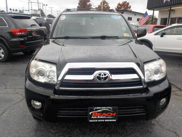 2006 TOYOTA 4RUNNER SR5 4X4, BUYBACK GUARANTEE, WARRANTY,  LEATHER, TOW PKG, SUNROOF, RARE 3RD ROW SEATS, ONLY 1 OWNER!! Norfolk VA