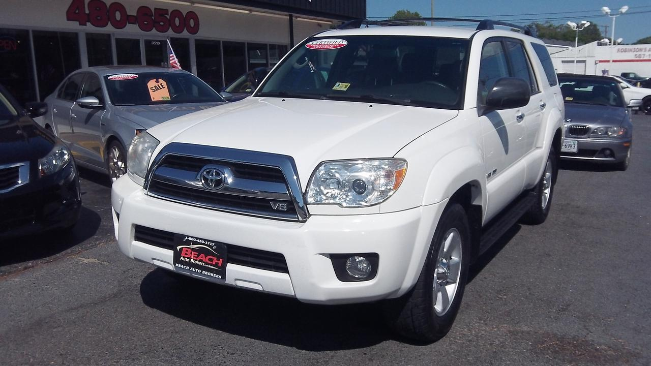 Used TOYOTA 4RUNNER Norfolk VA