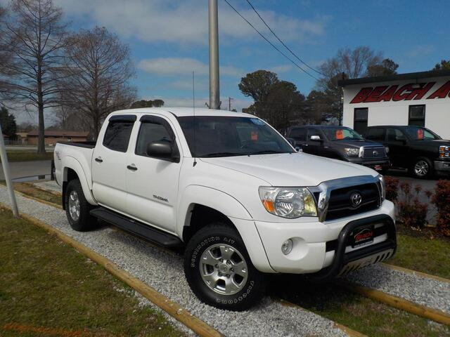 2006 TOYOTA TACOMA TRD OFF ROAD DOUBLE CAB 4X4, WARRANTY, MANUAL, TOW PKG, RUNNING BOARDS, REAR A/C, KEYLESS ENTRY,A/C! Norfolk VA