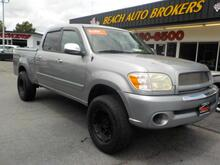 2006_TOYOTA_TUNDRA_SR5 DOUBLE CAB CREW, BUYBACK GUARANTEE, WARRANTY, NAVIGATION, BED COVER, TOW PACKAGE LIFTED, CLEAN!_ Norfolk VA