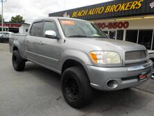 TOYOTA TUNDRA SR5 DOUBLE CAB CREW, CERTIFIED W/ WARRANTY, NAVIGATION, BED COVER, TOW PACKAGE LIFTED, CLEAN!!! 2006