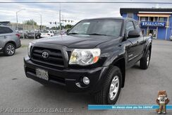 2006_Toyota_Tacoma_SR5 / 4X4 / Automatic / Access Cab / Auto Start / Power Locks & Windows / Cruise Control / Bed Liner / Tow Pkg / 21 MPG_ Anchorage AK