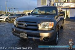 2006_Toyota_Tundra_Automatic / 4.0L V6 / Regular Cab / Long Bed / ARE Matching Canopy / Cruise Control / Air Conditioning / Aluminum Wheels / Tow Pkg / Low Miles_ Anchorage AK