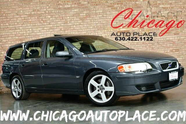 2006 Volvo V70 2.5L Turbo R - ALL-ALLOY TURBOCHARGED I5 ENGINE ALL WHEEL DRIVE BLACK LEATHER HEATED SEATS SUNROOF ACTIVE CHASSIS Bensenville IL