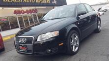 AUDI A4 2.0T, CARFAX CERTIFIED, PREMIUM SOUND, HEATED LEATHER SEATS, SUNROOF,  FOG LAMPS, LOW MILES AT 55K! 2007