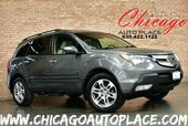 2007 Acura MDX AWD - 3.7L VTEC V6 ENGINE 1 OWNER BEIGE LEATHER HEATED SEATS SUNROOF 3RD ROW SEATS XENONS PREMIUM WHEELS