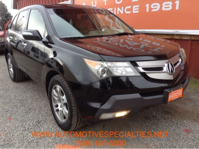 2007 Acura MDX Tech Package with Rear DVD System Spokane WA