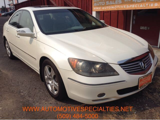 2007 Acura RL Technology Package AWD Spokane WA