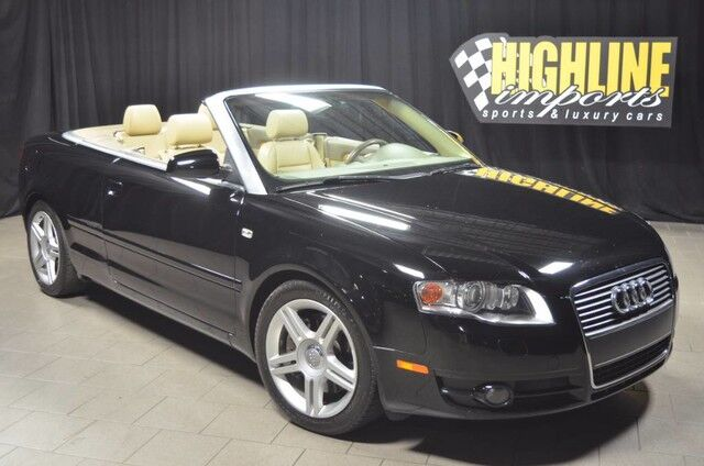 Used 2007 Audi A4 Convertible Pricing - For Sale | Edmunds