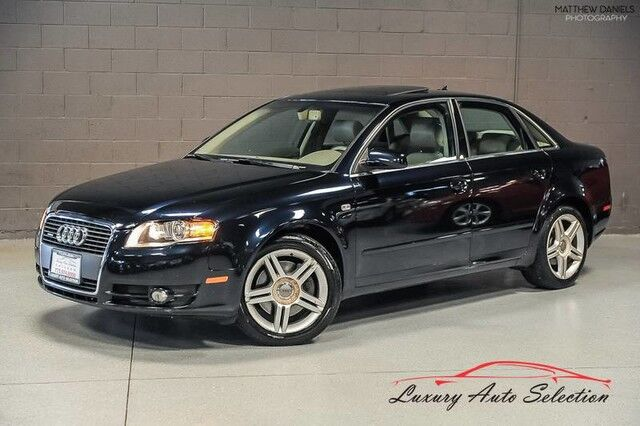 2007_Audi_A4 2.0T Quattro_4dr Sedan_ Chicago IL