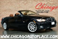 2007_BMW_3 Series_328i CONVERTIBLE/HARDTOP - 3.0L I6 ENGINE REAR WHEEL DRIVE SADDLE BROWN LEATHER HEATED SEATS WOOD GRAIN INTERIOR TRIM_ Bensenville IL