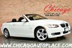 2007_BMW_3 Series_328i HARDTOP/CONVERTIBLE - 3.0L I6 ENGINE REAR WHEEL DRIVE BLACK LEATHER HEATED SEATS WOOD GRAIN INTERIOR TRIM XENONS PREMIUM PACKAGE COLD WEATHER PACKAGE_ Bensenville IL