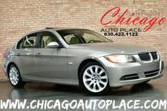 2007_BMW_3 Series_335xi - 3.0L DI I6 TWIN-TURBOCHARGED ENGINE ALL WHEEL DRIVE BEIGE LEATHER HEATED SEATS WOOD GRAIN INTERIOR TRIM SUNROOF XENONS_ Bensenville IL