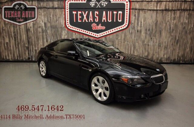 2007 BMW 6 Series 650i Addison TX 19893194