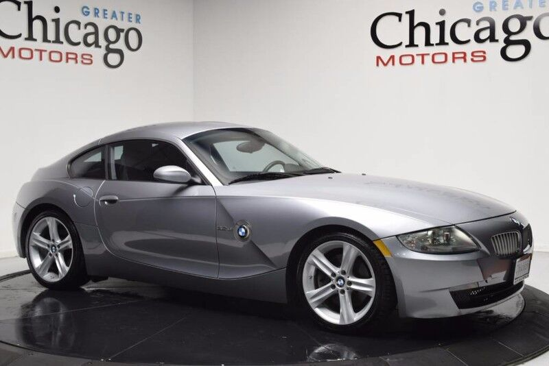 2007_BMW_Z4 3.0si Coupe Automatic_Carfax Certified~Very Rare Bmw_ Chicago IL