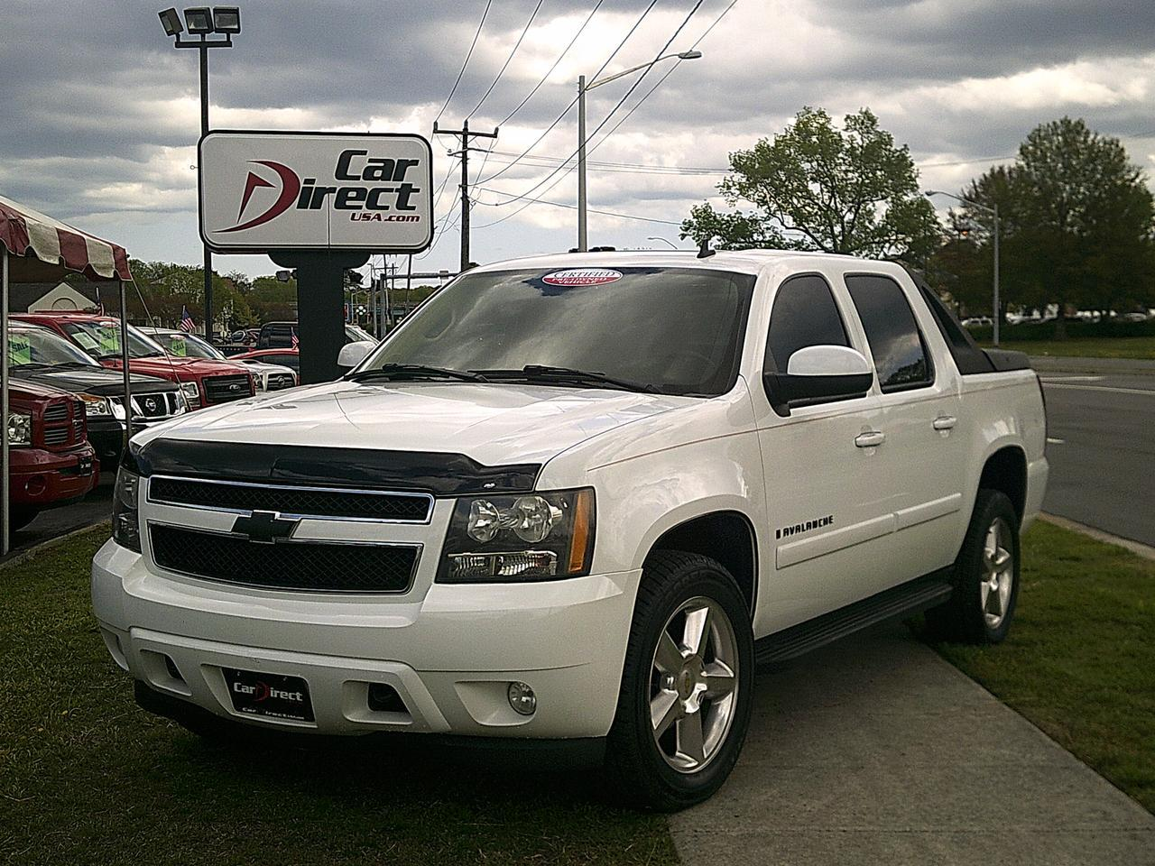 2007 chevrolet avalanche lt crew cab 4x4 autocheck. Black Bedroom Furniture Sets. Home Design Ideas