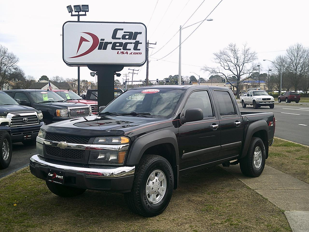 2007 chevrolet colorado crew cab lt z71 4x4 autocheck. Black Bedroom Furniture Sets. Home Design Ideas