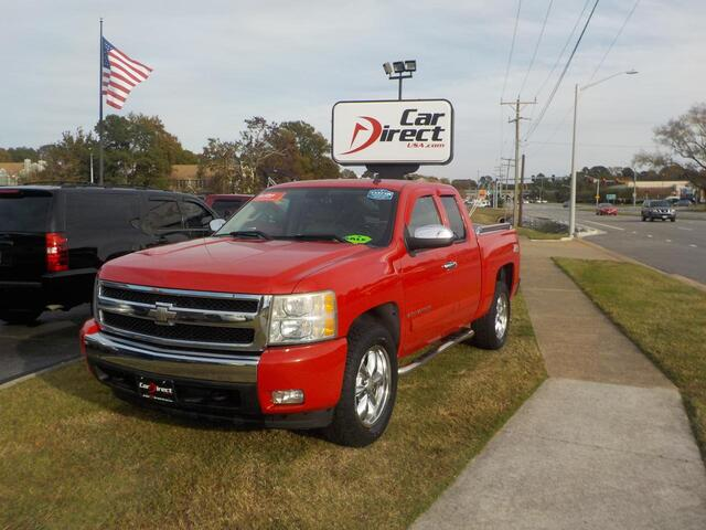 2007 CHEVROLET SILVERADO 1500 LT 4X4 Z71, BUY BACK GUARANTEE & WARRANTY, CD, ALPINE SOUND SYS, ONSTAR, TOW PKG, LOW MILES! Virginia Beach VA