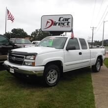 2007_CHEVROLET_SILVERADO_1500 LT1 EXT CAB 4X4, CARFAX CERTIFIED, KEYLESS ENTRY, BED LINER, TOW PKG, Z71 OFF ROAD, LOW MILES!_ Virginia Beach VA