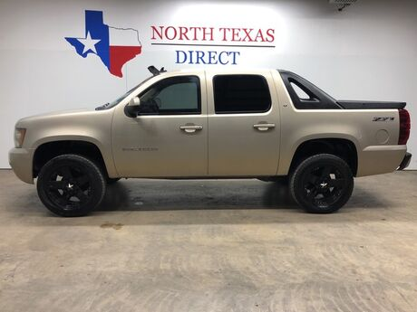 2007 Chevrolet Avalanche Z-71 3LT4x4 Lifted Leather Sunroof Rock Star Touch Screen Mansfield TX