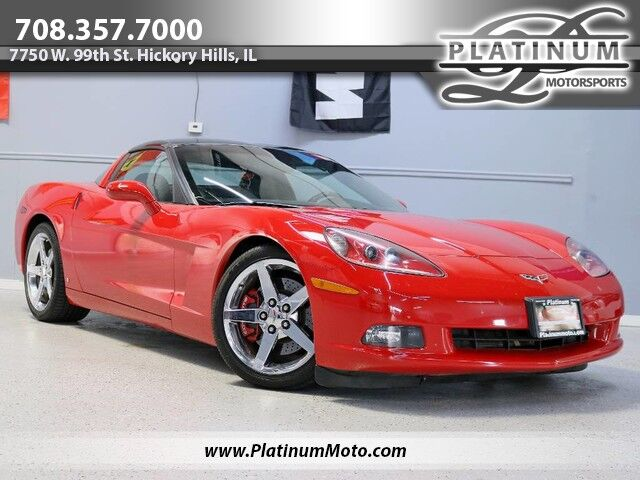 2007 Chevrolet Corvette Heated Leather Navi 2 Roof Panel Hickory Hills IL