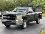 2007 Chevrolet Silverado 2500HD Ladder Rack and Tool Boxes