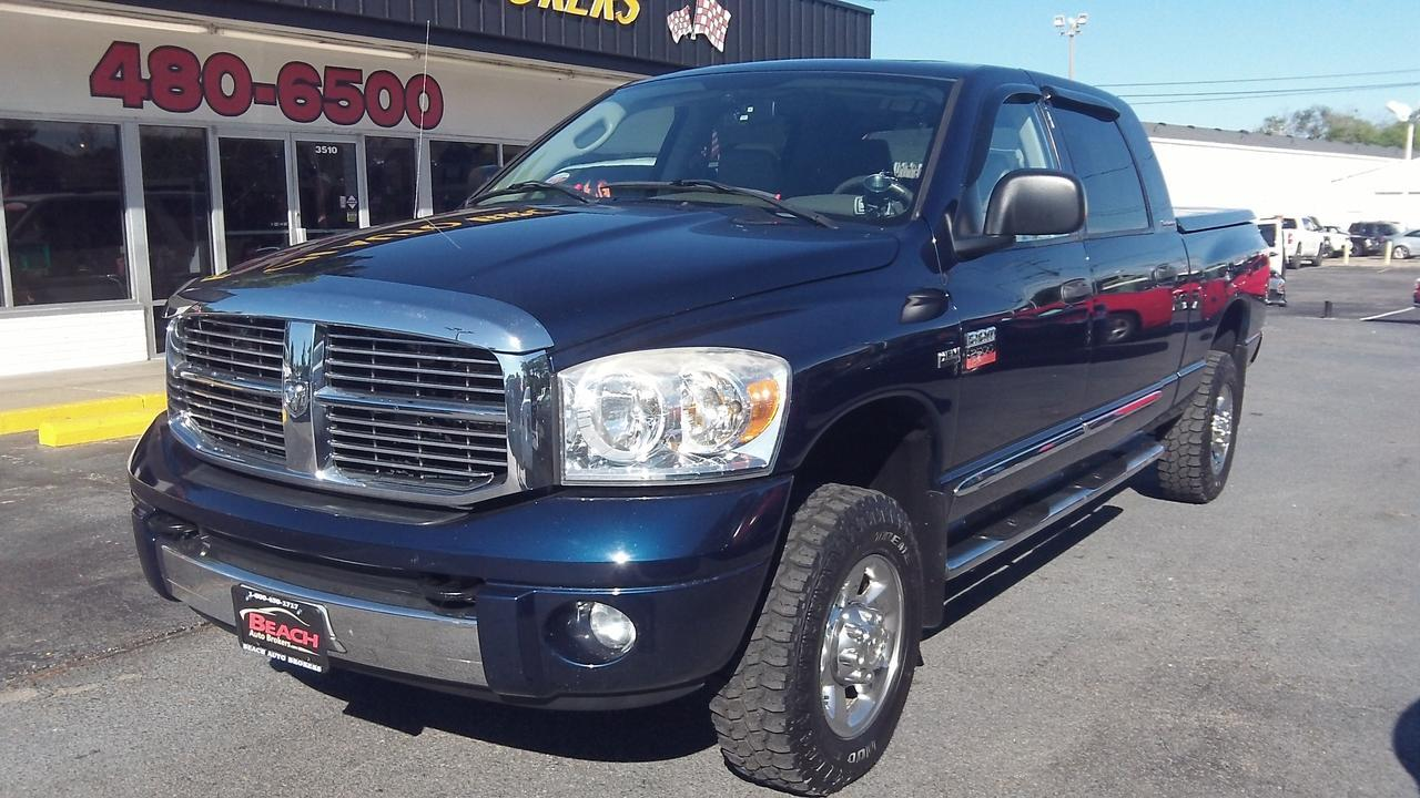 2007 dodge ram 2500 laramie mega cab 4x4 carfax certified. Black Bedroom Furniture Sets. Home Design Ideas