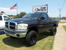 DODGE RAM SXT REGULAR CAB, AUTOCHECK CERTIFIED, LIFTED, AMERICAN RACING WHEELS, BED LINER, LOW MILES! 2007