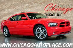 2007_Dodge_Charger_R/T - 5.7L HEMI MULTI-DISPLACEMENT V8 ENGINE REAR WHEEL DRIVE 1 OWNER BLACK LEATHER/SUEDE R/T SPORT SEATS W/ RED STITCHING HEATED SEATS SUNROOF CHROME WHEELS_ Bensenville IL