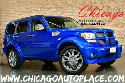 2007 Dodge Nitro R/T - 4.0L V6 ENGINE 4 WHEEL DRIVE BLACK LEATHER HEATED SEATS SUNROOF CHROME WHEELS Bensenville IL