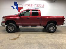 2007_Dodge_Ram 2500_SLT 4x4 Diesel SkyJacker Lift Crew Short Nitto Low Miles_ Mansfield TX