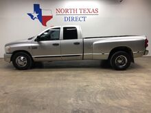 2007_Dodge_Ram 3500_SLT Cummins Diesel Crew Dually 6 Spd Manual Towing_ Mansfield TX