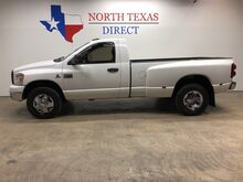 2007_Dodge_Ram 3500_SLT Cummins Diesel Dually Single Cab Bedliner Towing Pkg_ Mansfield TX