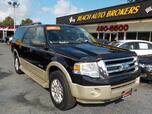 2007 FORD EXPEDITION EL EDDIE BAUER 4X4, CERTIFIED W/WARRANTY, LEATHER, SUNROOF, DVD, TOW PKG, FULLY LOADED, VERY CLEAN!!