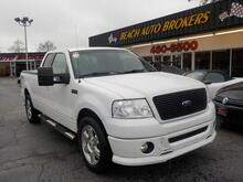 2007_FORD_F-150_FX2 SPORT 4X4, WHOLESALE TO THE PUBLIC AS IS, TOW PKG, KEYLESS ENTRY, TONNEAU COVER!_ Norfolk VA