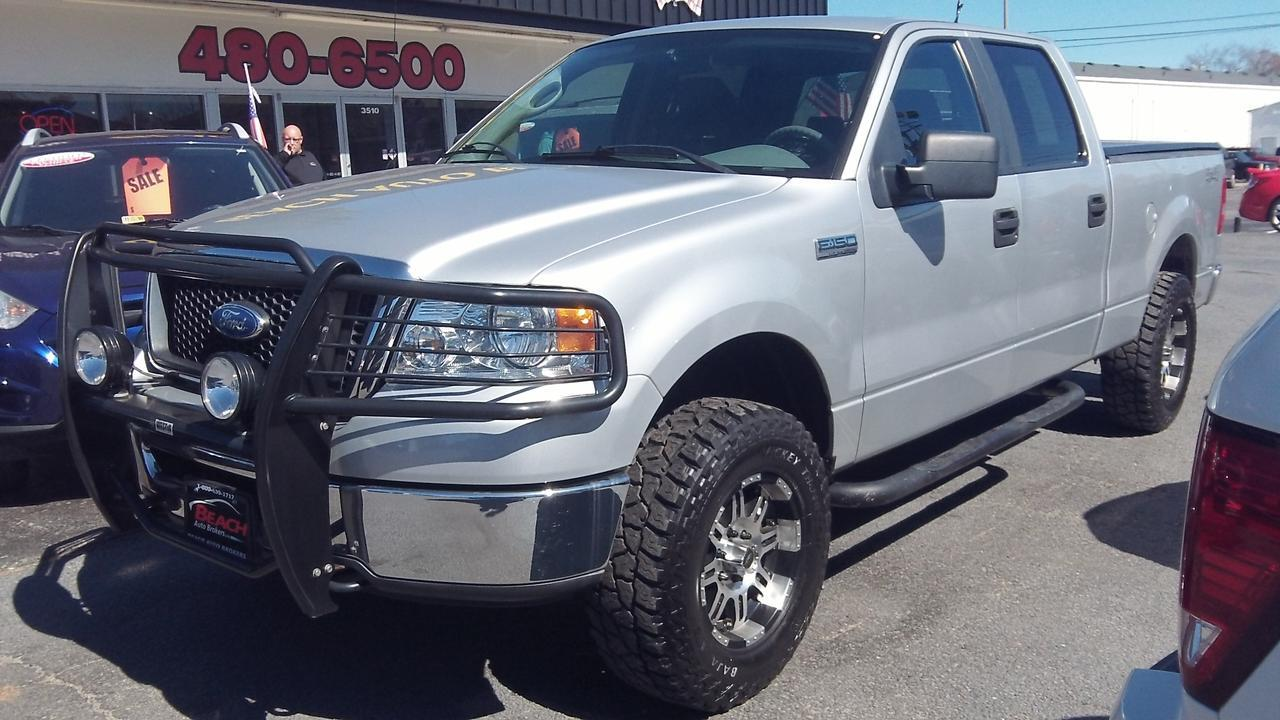 2007 ford f 150 xlt crew cab 4x4 carfax certified lifted for All ride motors norfolk va
