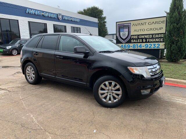 2007 Ford Edge SEL PLUS PANORAMIC ROOF, HEATED LEATHER, REAR ENTERTAINMENT SYSTEM!!! EXTRA CLEAN!!! Plano TX