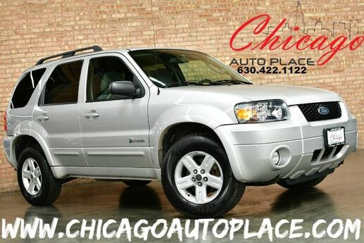 2007 Ford Escape Hybrid - 2.3L I4 ATKINSON CYCLE ENGINE FRONT WHEEL DRIVE CVT TRANSMISSION GRAY CLOTH INTERIOR FOG LAMPS CD PLAYER ALLOY WHEELS Bensenville IL