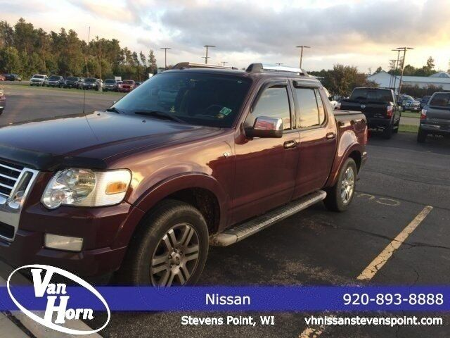 2007 Ford Explorer Sport Trac Limited Stevens Point Wi 25432470