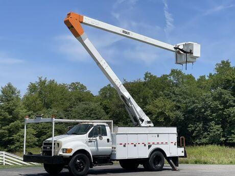 2007 Ford F750 55' 2 Man Bucket Utility Truck  Crozier VA