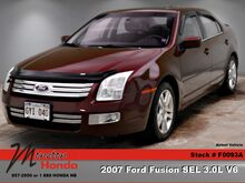 2007_Ford_Fusion_SEL_ Moncton NB