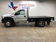 2007_Ford_Super Duty F-450 DRW_F450 DRW Flatbed 6.0 Diesel Regular Cab LOW Miles_ Mansfield TX