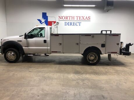 2007 Ford Super Duty F-450 DRW F450 DRW Stahl Utility Bed 6.0 Diesel Regular Cab Work Bench Mansfield TX