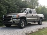 2007 GMC Sierra 2500HD 6.6L Duramax Diesel LBZ 4x4 SLT Leather DVD No Rust!