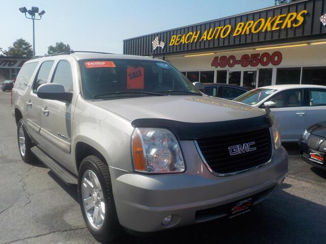 2007 GMC YUKON XL SLT, BUYBACK GUARANTEE, WARRANTY, FULLY LOADED, 3RD ROW, LEATHER, DVD PLAYER, ONLY 84K MILES! Norfolk VA